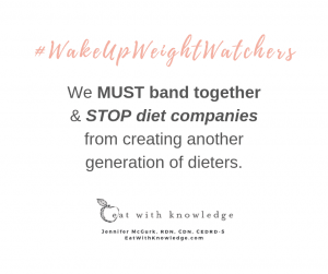 Eat With Knowledge Weight Watchers Stop Diet Eating disorder