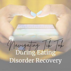 tik tok and eating disorders