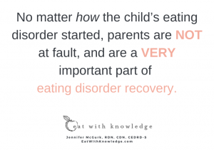 Eat With Knowledge - 5 ways parents must support their child